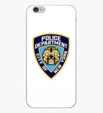 Patch of The New York City Police Department iPhone Case
