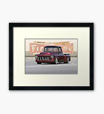 1956 Chevrolet Custom Pickup Framed Print