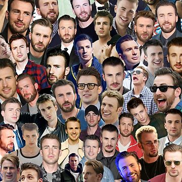 chris evans collage by maisieshaea