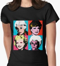Golden Warhol Girls Women's Fitted T-Shirt