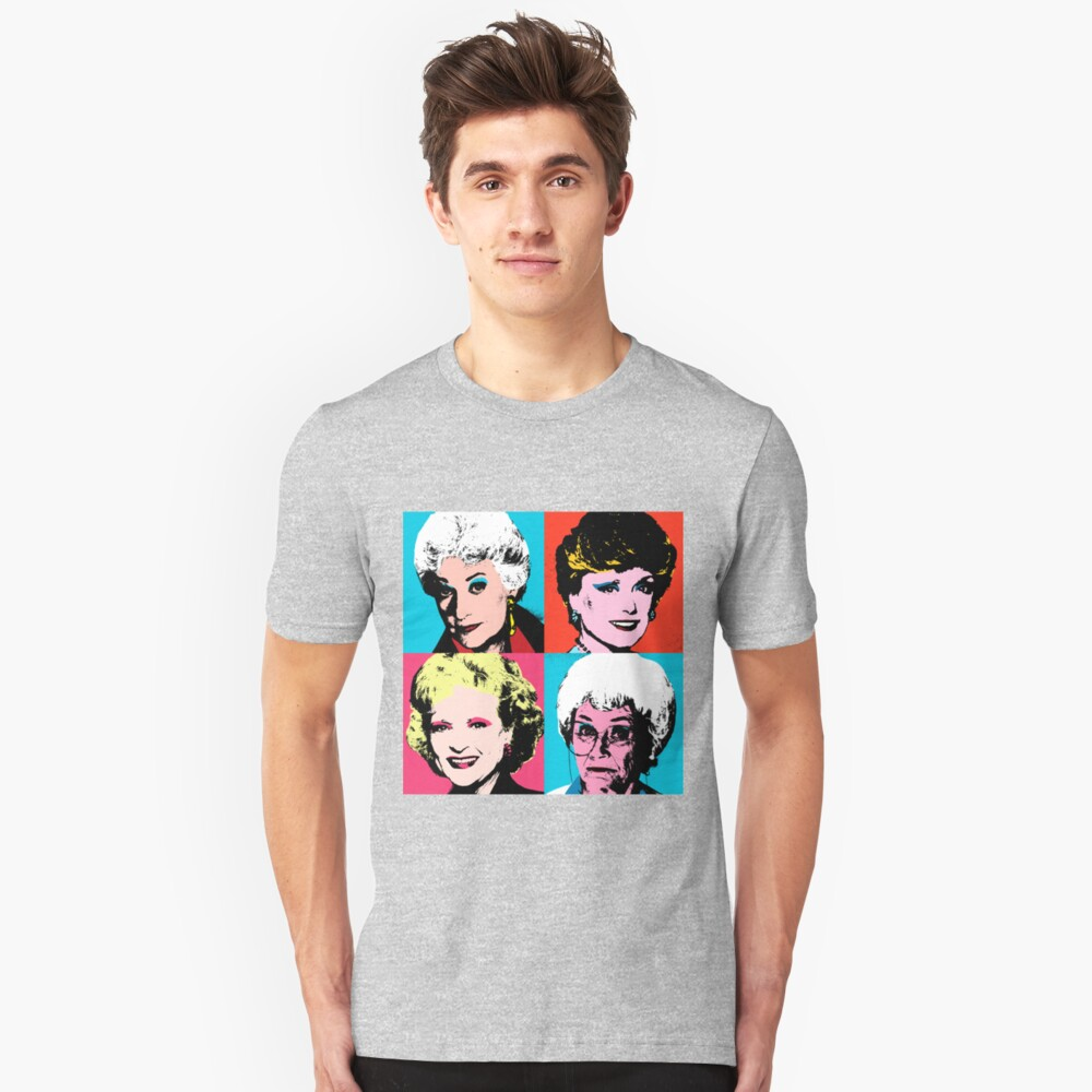 Golden Warhol Girls Slim Fit T-Shirt