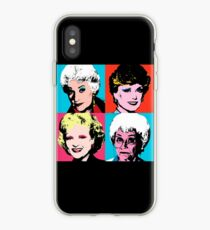 Golden Warhol Girls iPhone Case