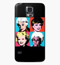 Golden Warhol Girls Case/Skin for Samsung Galaxy