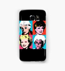 Golden Warhol Girls Samsung Galaxy Case/Skin