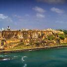 El Morro Fort San Juan, Puerto Rico by Jonicool