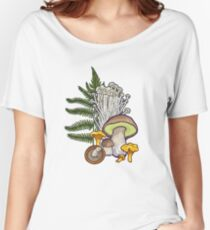 mushroom forest Women's Relaxed Fit T-Shirt