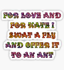 Haiku 1 Sticker