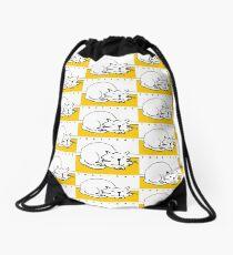 That Cat - is sleeping Drawstring Bag