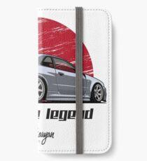 Skyline GTR R34 (grey) iPhone Wallet/Case/Skin