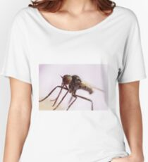 Insect Extreme Macro Fly With Pollen Women's Relaxed Fit T-Shirt