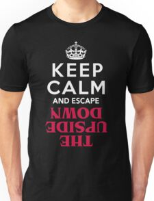Keep Calm and Escape the Upside Down: Stranger Things T-Shirt T-Shirt