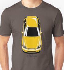 Honda Civic EK (yellow) Unisex T-Shirt