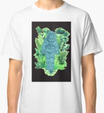 Astronaut and Flowers Classic T-Shirt