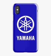 YAMAHA White logo iPhone Case/Skin