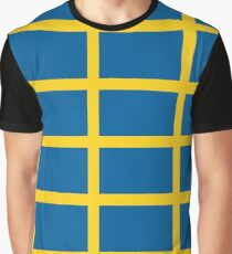 Sweden Pattern (Sverige) Graphic T-Shirt