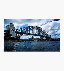 Harbour Bridge - Sydney - NSW Photographic Print