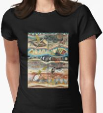 Tropical Fusions (Panels x 4) Womens Fitted T-Shirt
