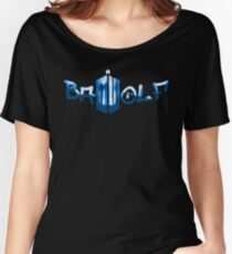 Bad Wolf Doctor Who Women's Relaxed Fit T-Shirt