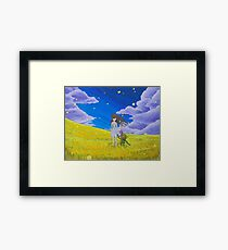Clannad Wishes  Framed Print