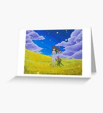 Clannad Wishes  Greeting Card