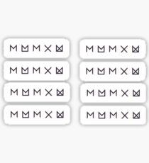 Monsta X Rectangles Sticker