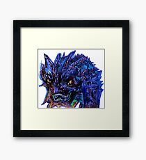Smaug Design Framed Print