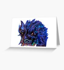 Smaug Design Greeting Card