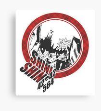 Soul Eater - Death City Canvas Print