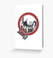 Soul Eater - Death City Grußkarte