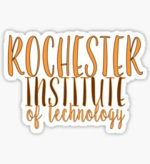 Rochester Institute of Technology Sticker