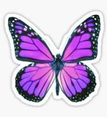 Ultraviolet Butterfly Sticker