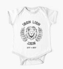 LION ZION BOB MARLEY IRON Kurzärmeliger Einteiler