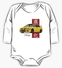 Lancer Evolution VIII (Gelb) Baby Body Langarm