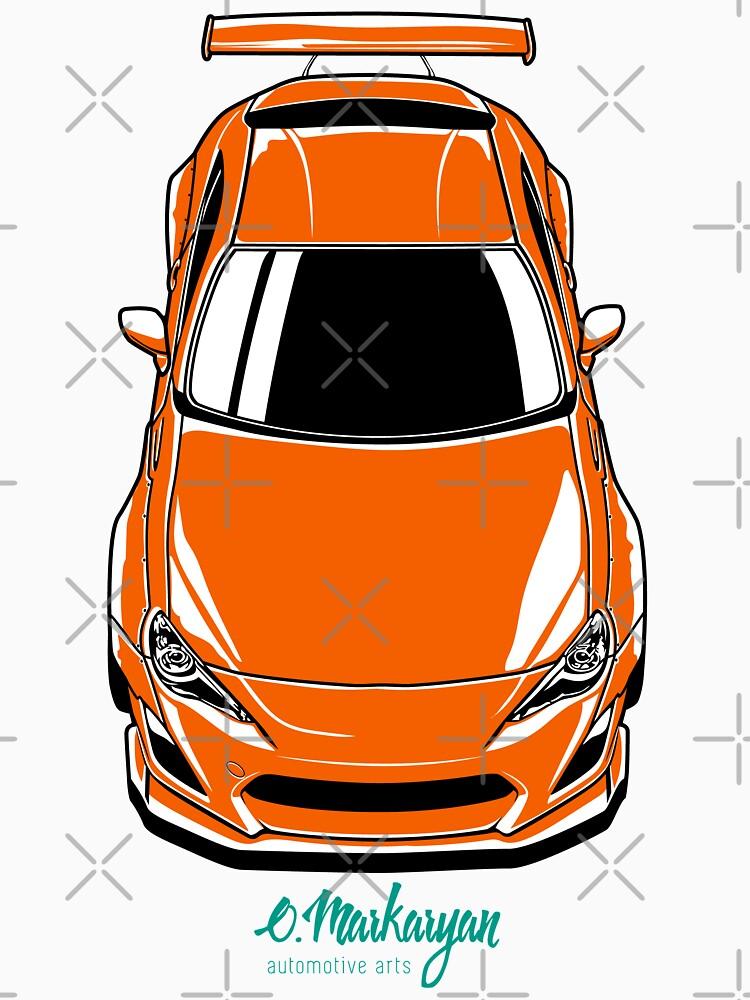 FR-S (orange) by OlegMarkaryan