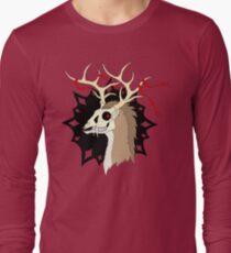 Ribbon Deer [Farbige Version] Langarmshirt