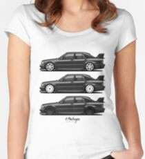 Merc 190E Evolution II Women's Fitted Scoop T-Shirt