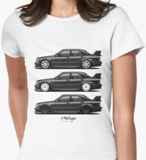 Merc 190E Evolution II Women's Fitted T-Shirt