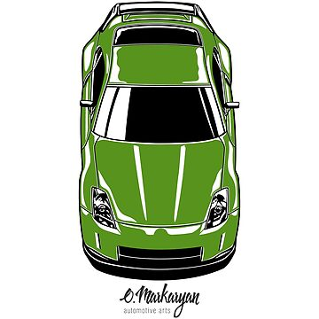 350Z (green) by OlegMarkaryan
