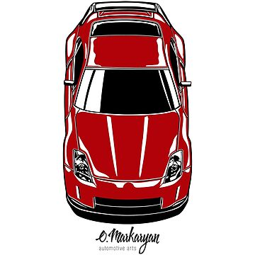 350Z (red) by OlegMarkaryan
