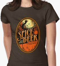 Spice Beer Label Women's Fitted T-Shirt