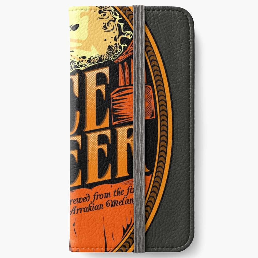 Gewürz-Bier-Etikett iPhone Flip-Case
