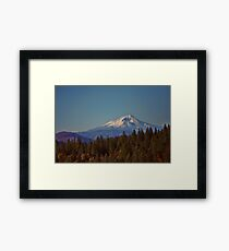 Mount Shasta Framed Print