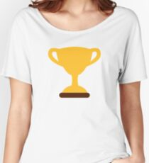 Cup trophy champion Women's Relaxed Fit T-Shirt