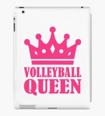 Volleyball queen crown iPad Case/Skin