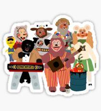 Rockafire- Showbiz Pizza Characters Sticker