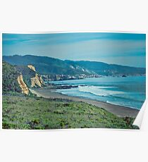 Nordkalifornien Küste Poster