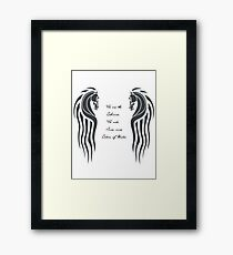 We Are the Rohirrim Framed Print