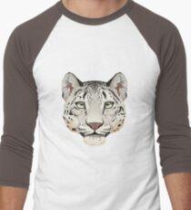Snow Leopard Face T-Shirt