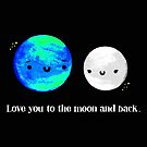 Love You to the Moon and Back by Stacey Roman