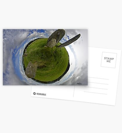 Beltany Stone Circle, Donegal Greeting Card